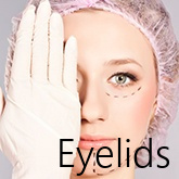 We present a preparation for eyelid correction procedure