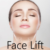 We present a preparation for facellift and mini facelift procedures